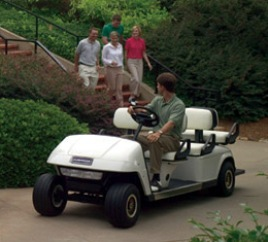 cushman golf cart