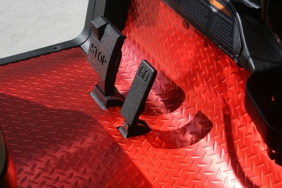 Golf Cart Floor Covers And Floor Mats