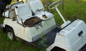 golf cart salvage