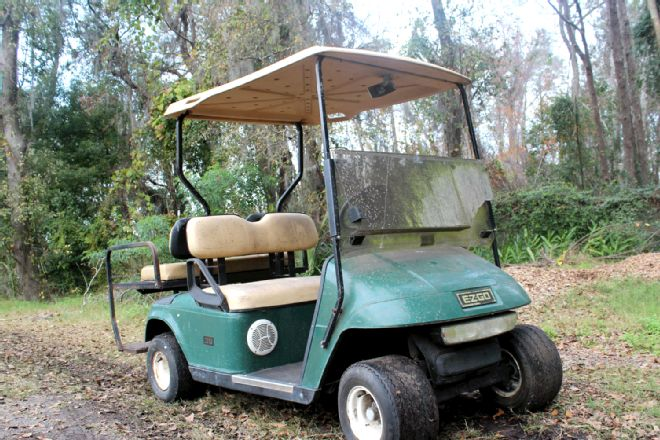 Cleaning Golf Cart Windshields