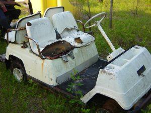 golf cart salvage