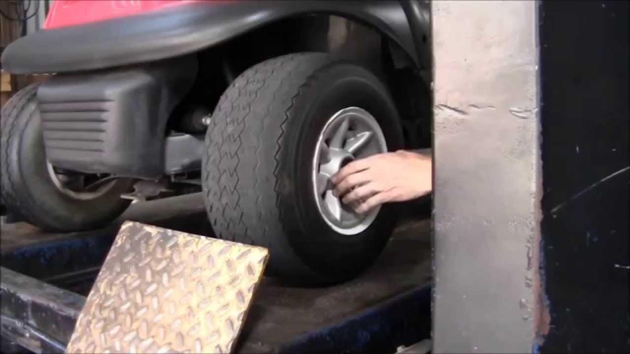 Golf Cart Tire Maintenance
