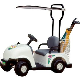 little tikes golf cart