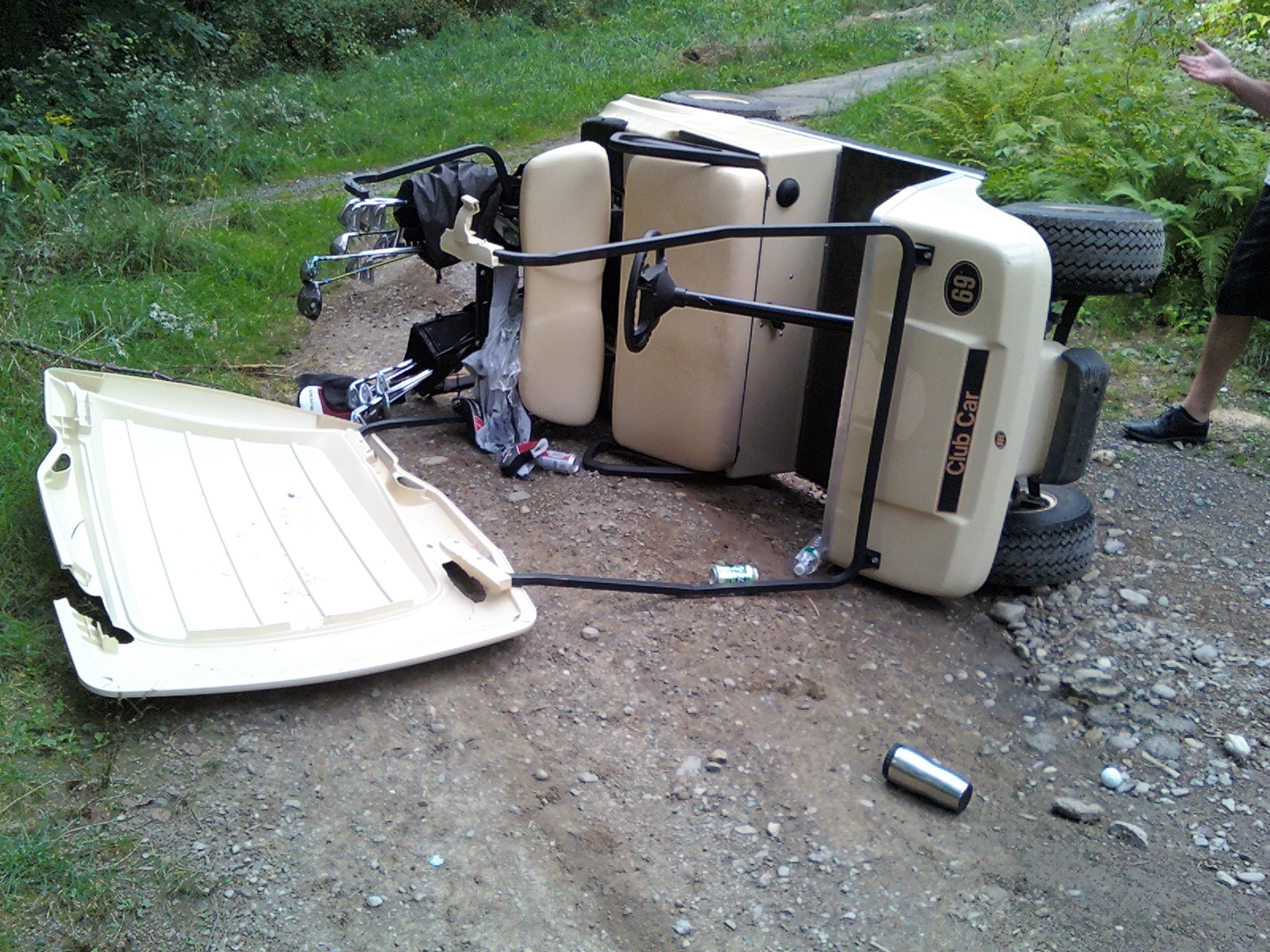As Is and Reconditioned Golf Carts